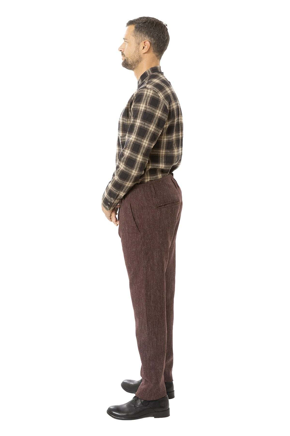 hannibal aw19 trousers hose heinke camin red seite