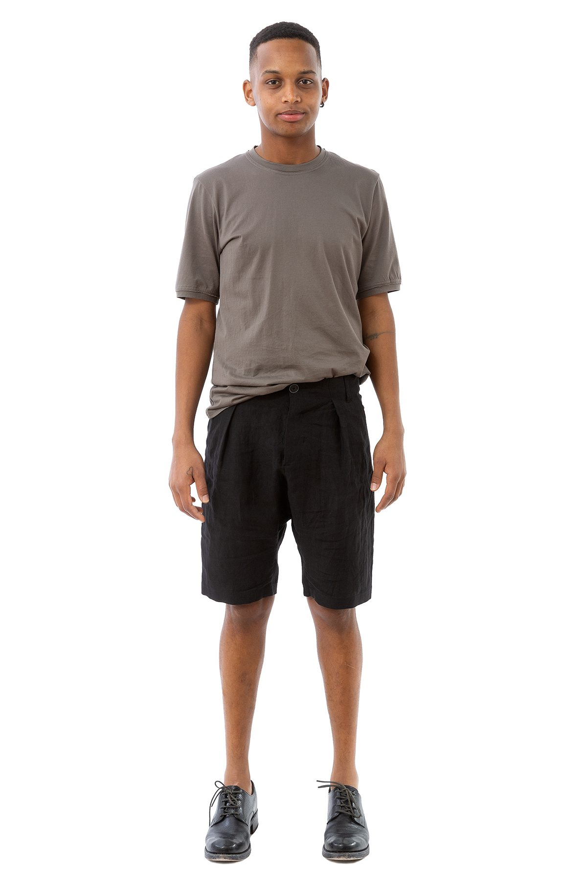 hannibal ss20 shorts daiki ink black schwarz 01