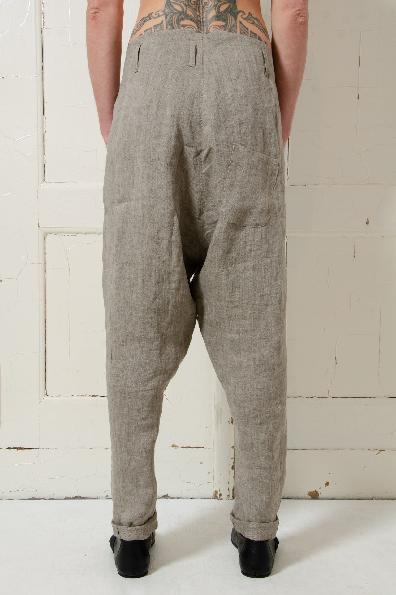 hannibal trousers hein soft taupe 5 1